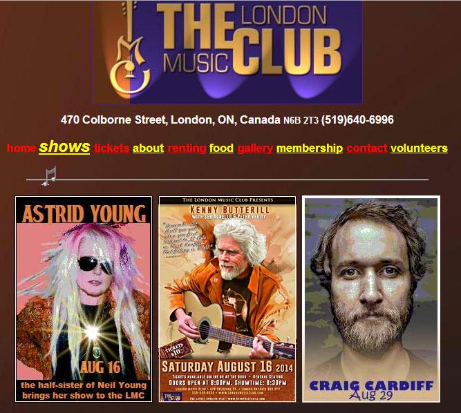 London Music Club 2014